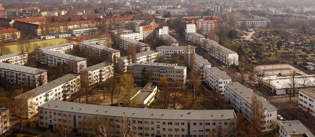 Weiße Stadt Berlin, Sanierung der Dachflächen mit Icopal Produkten