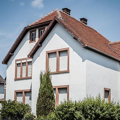 Dach vor der Dachsanierung